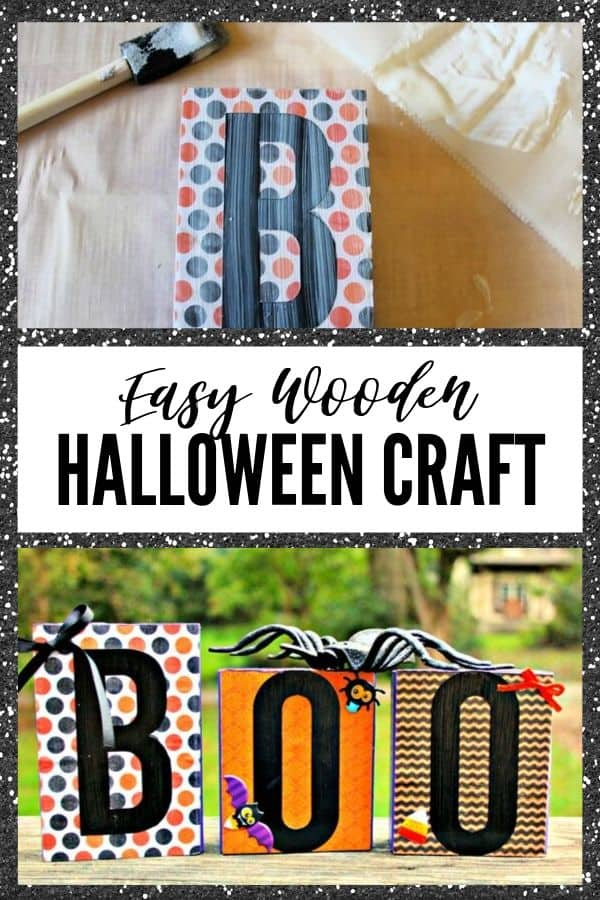 Halloween Craft - Pin Image