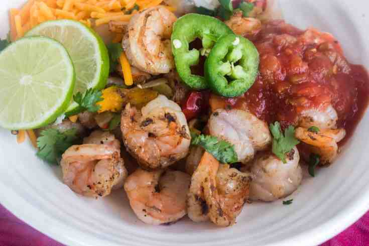 Blackstone Griddle Shrimp Fajitas Recipe