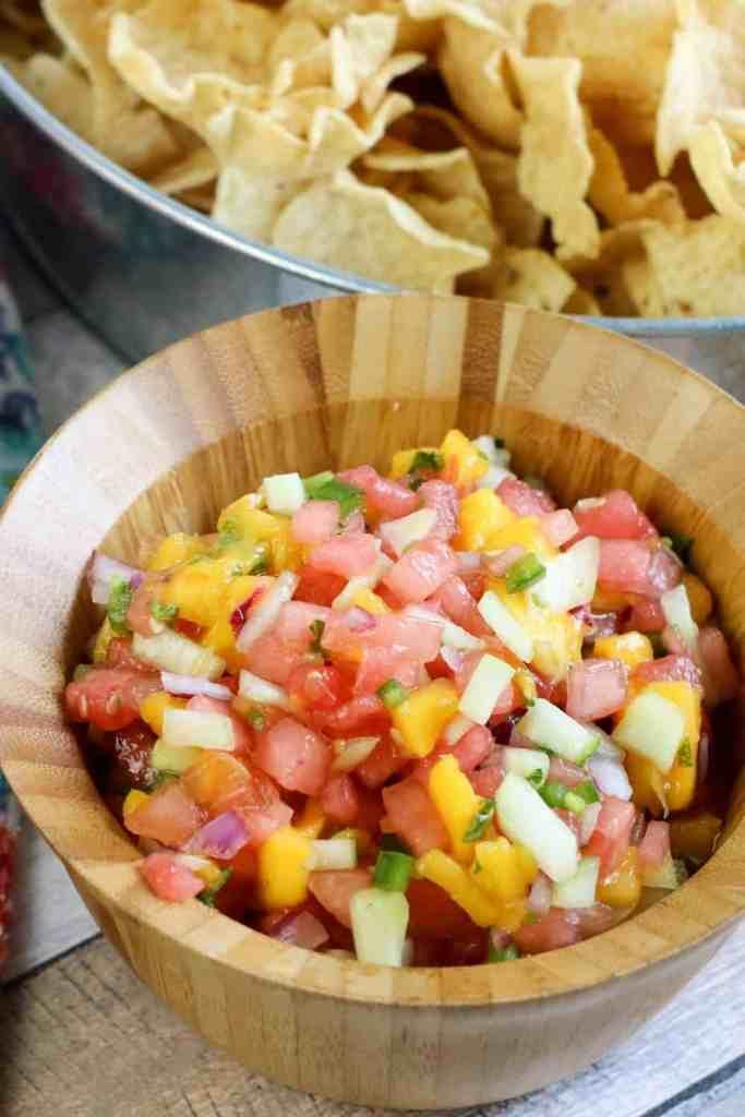 mango watermelon salsa