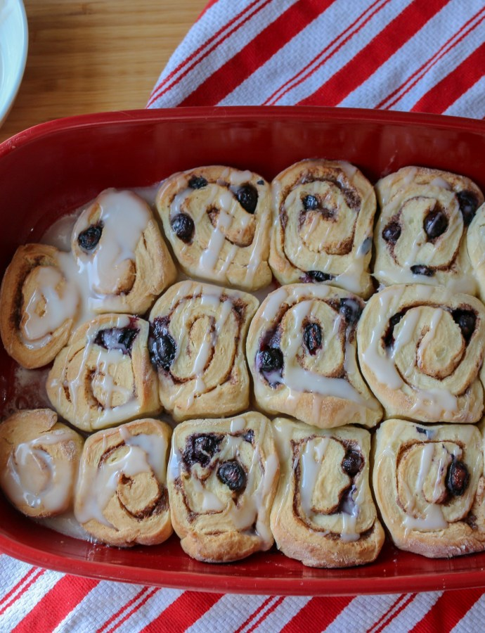 Mom's Christmas Cinnamon Rolls