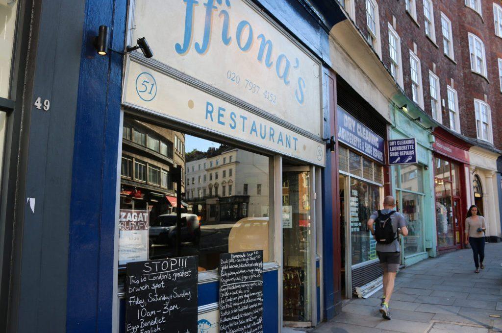 Dinner at Ffiona's