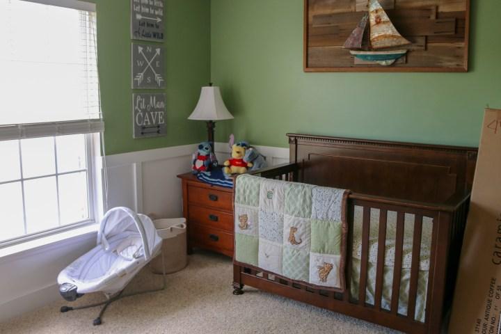 Guest Room to Nursery :: Week 2