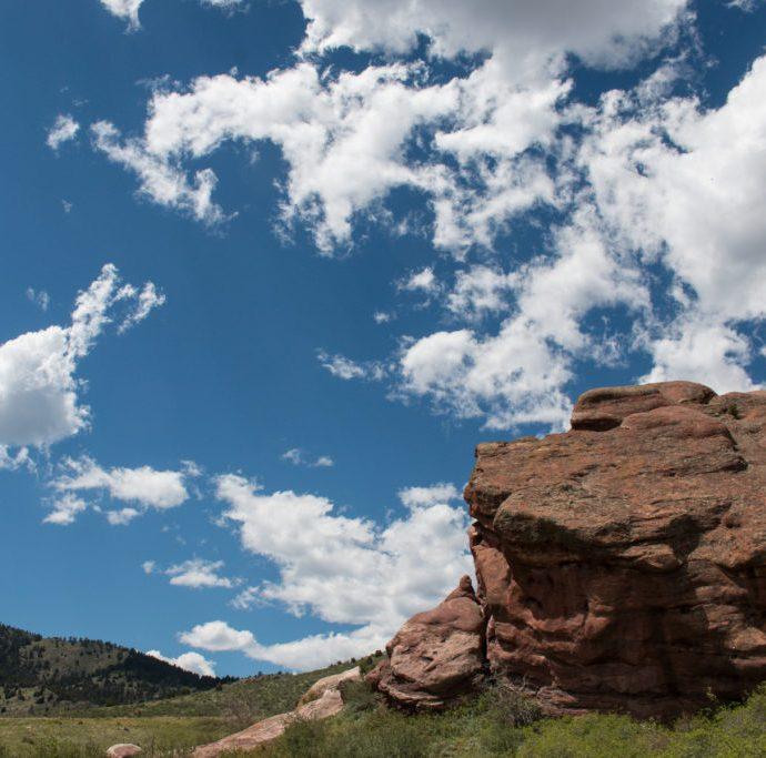 Hiking Colorado's Red Rocks Park