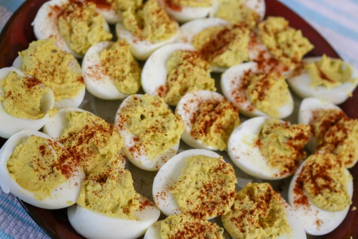 Mom's Deviled Eggs