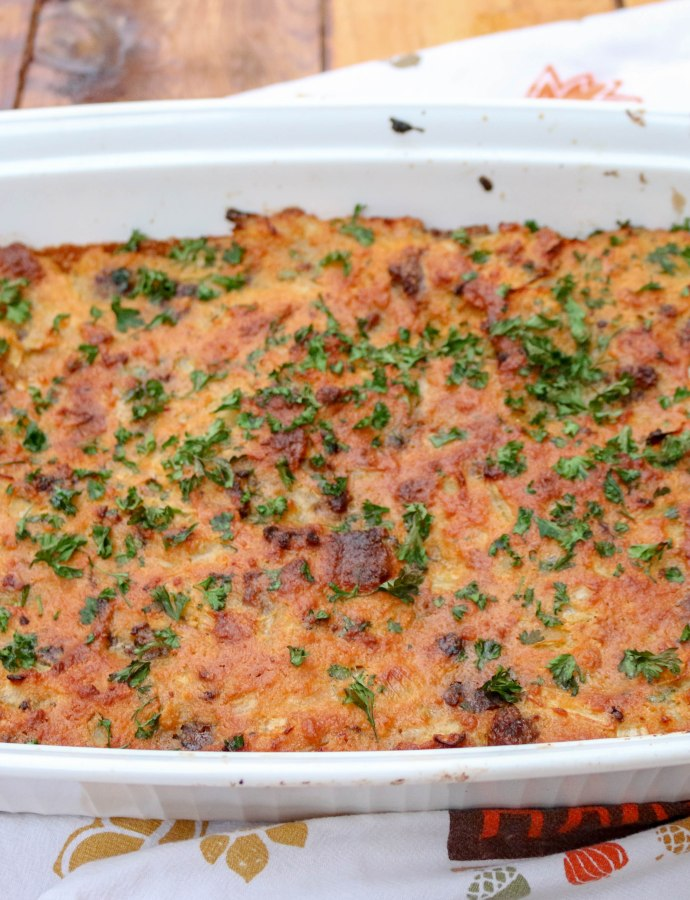 Virginia Cornbread Stuffing