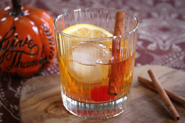 Maple Bourbon Old Fashioned