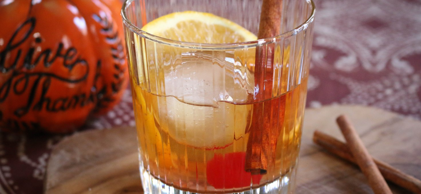 Maple Bourbon Old Fashioned