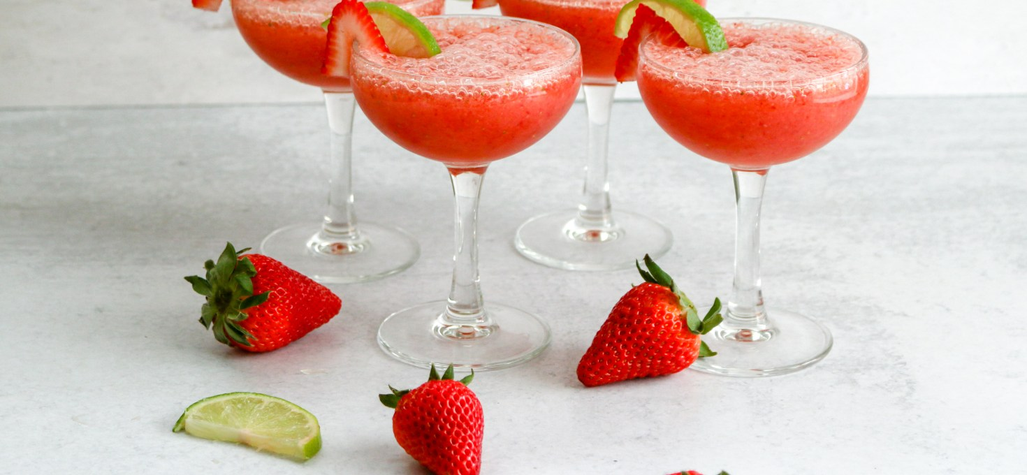 Frozen Strawberry Pineapple Daiquiri