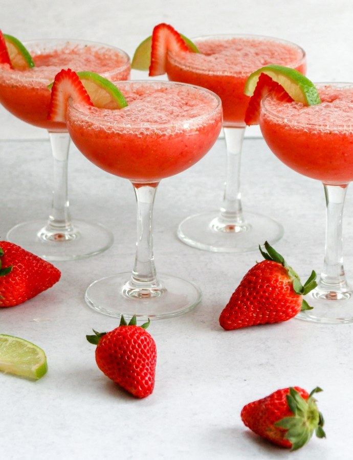 Frozen Strawberry Pineapple Daiquiri