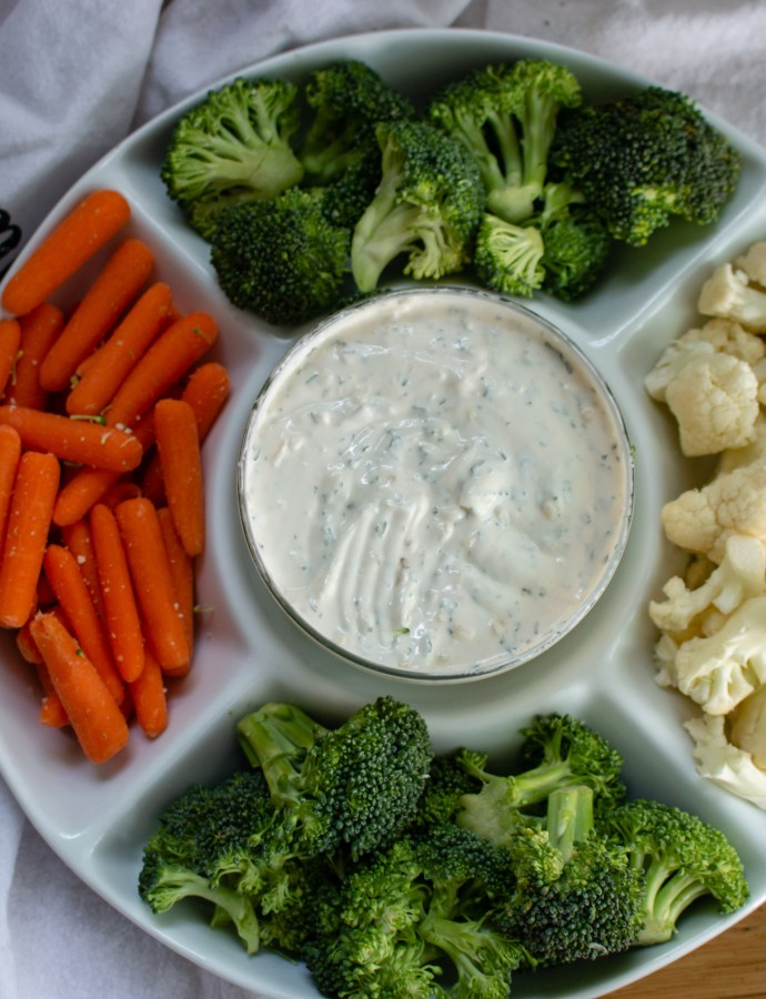 Easy Homemade Veggie Dip