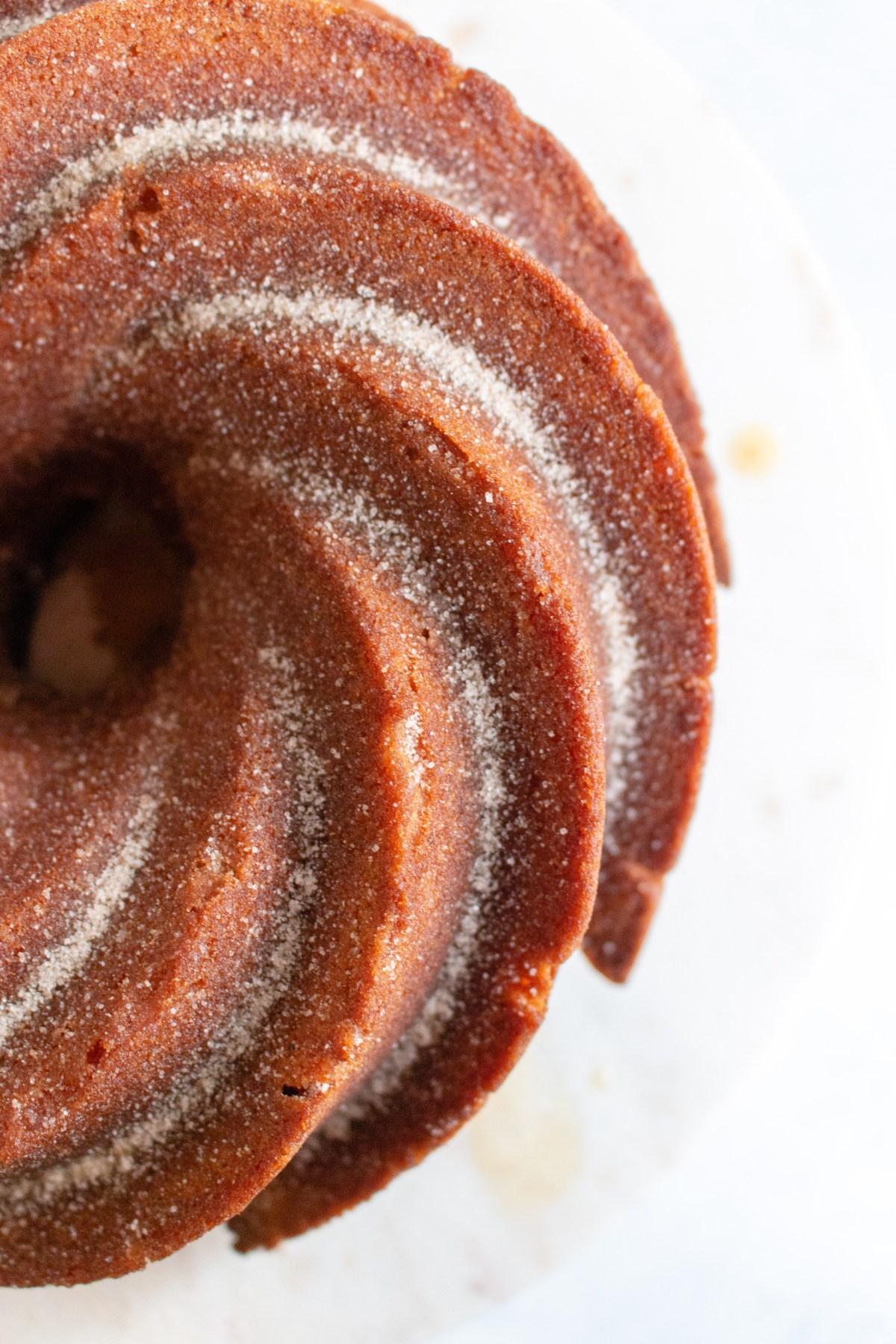 cider donut bundt cake