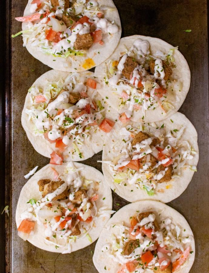 Mahi Mahi Street Tacos