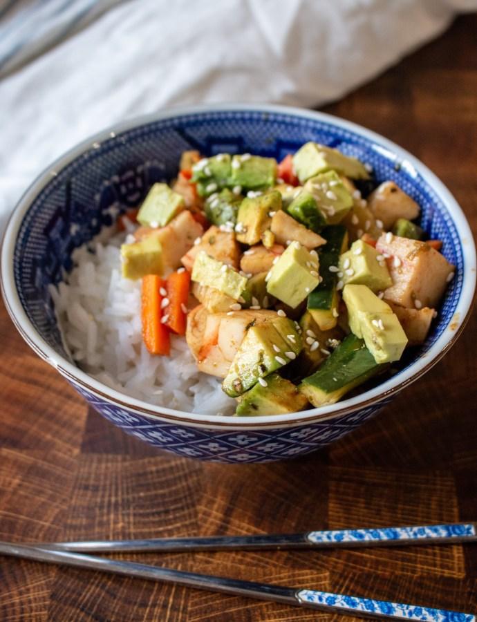Cali Roll Sushi Bowls
