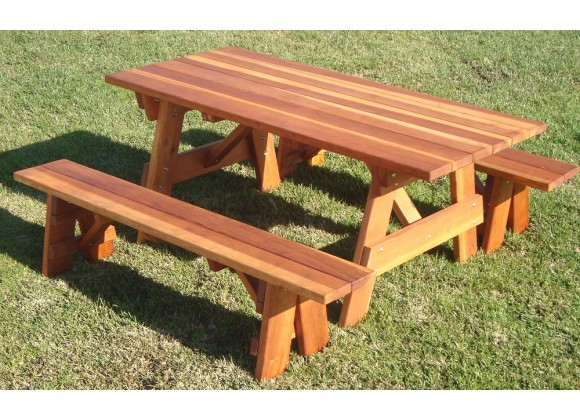 best redwood picnic table