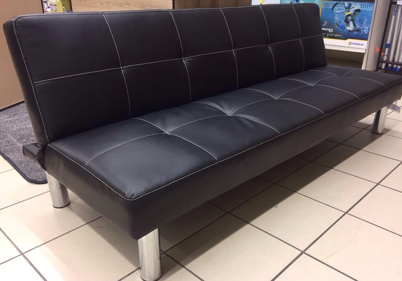 sleeping couch and sofa cape town dunbar gondola new sleeper leather feel 178x87cm up to 200kg home furniture