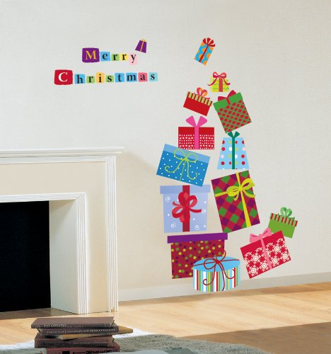 s christmas decoration wall sticker decal