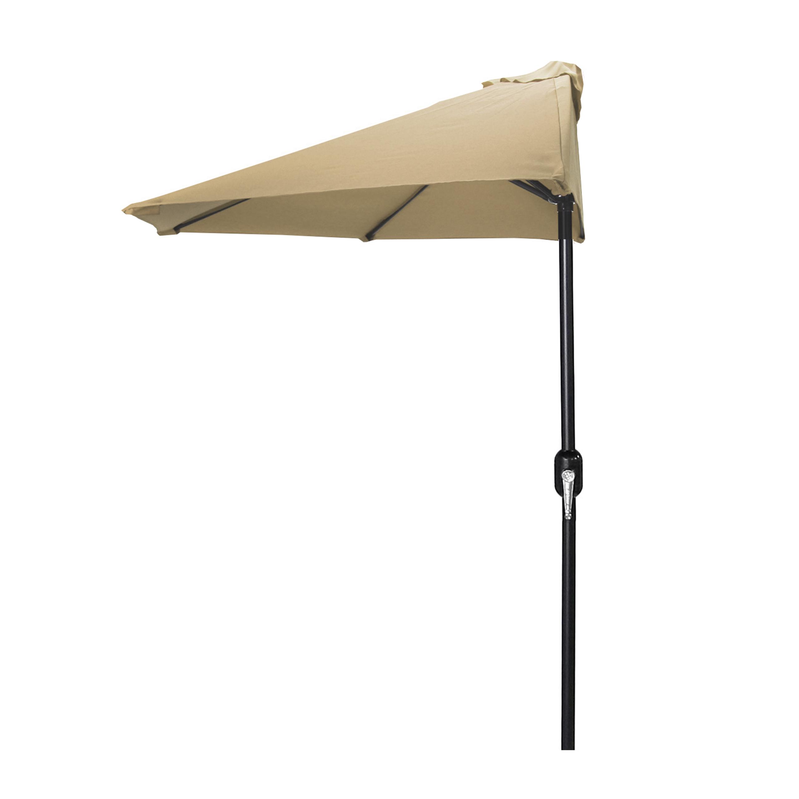 Parasol Voor Balkon.Balkonklem Voor Parasol Parasol Zonnescherm O 258 Cm Beige Calabria