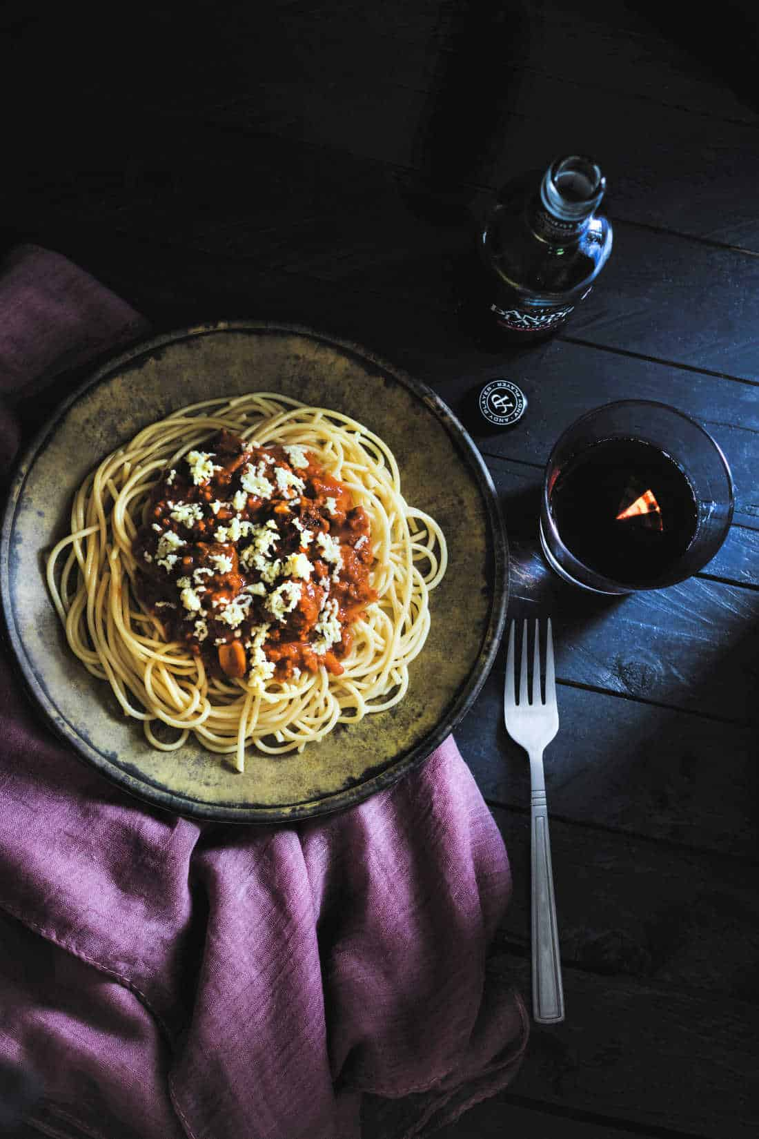 low sodium spaghetti and meat sauce