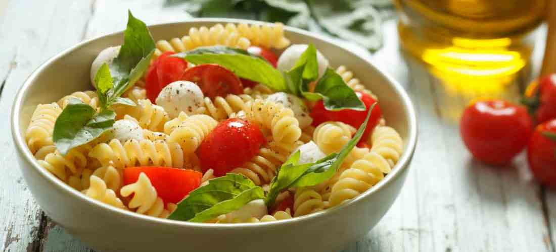 Easy Healthy Italian Pasta Salad Recipe