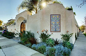 spanish style landscaping