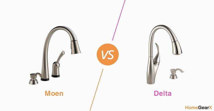 moen vs delta what s the difference