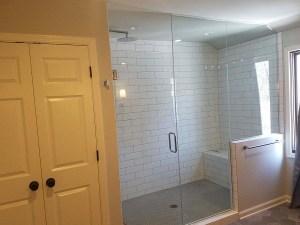 glass shower door, framless shower doors, milwaukee