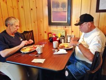 """Doris and Ray, both South Bend natives, have eaten breakfast at Jeannie's every day since it opened in 2011. Their reasons for such strong loyalty? """"Good food. Good people. That's what matters around here."""""""