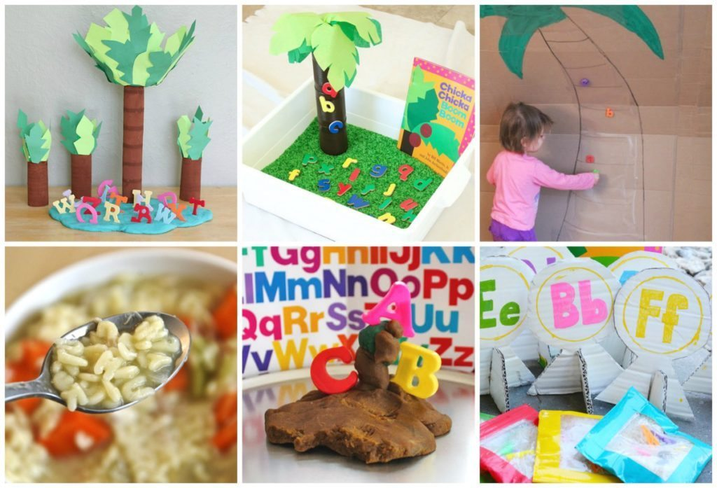 Chicka Chicka Boom Boom Activities - Homegrown Friends