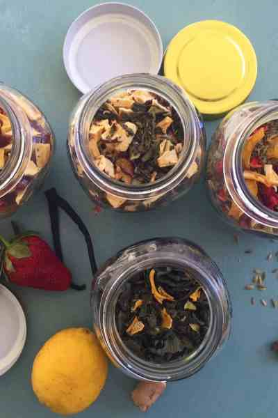 Christmas in a Jar: Fun and Fruity Homemade Teas
