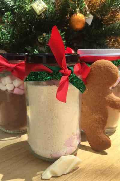 Christmas in a Jar: Hot Chocolate Three Ways