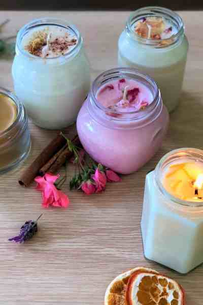 Christmas in a Jar: Homemade Scented Candles
