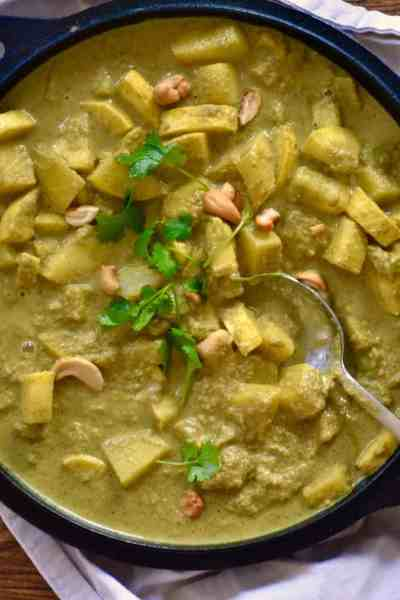 Zucchini and Potato Korma
