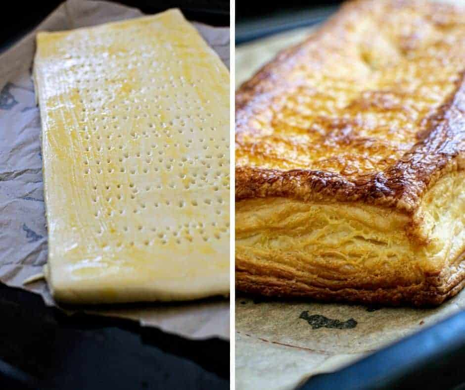 puffed sourdough puff pastry