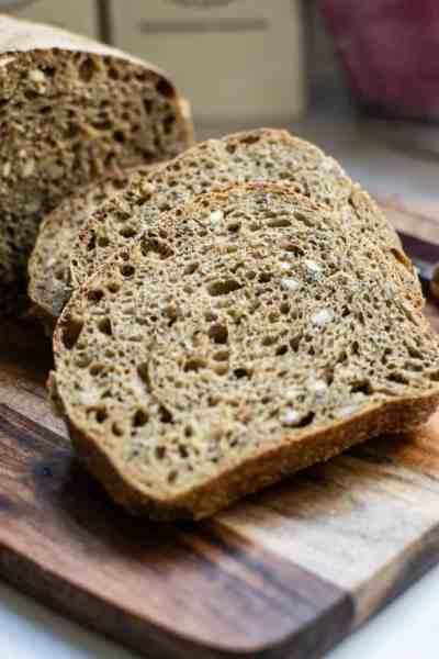 Sourdough Grain Sandwich Bread
