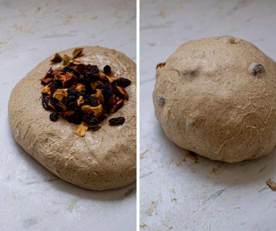 Sourdough Hot Cross Bun Dough