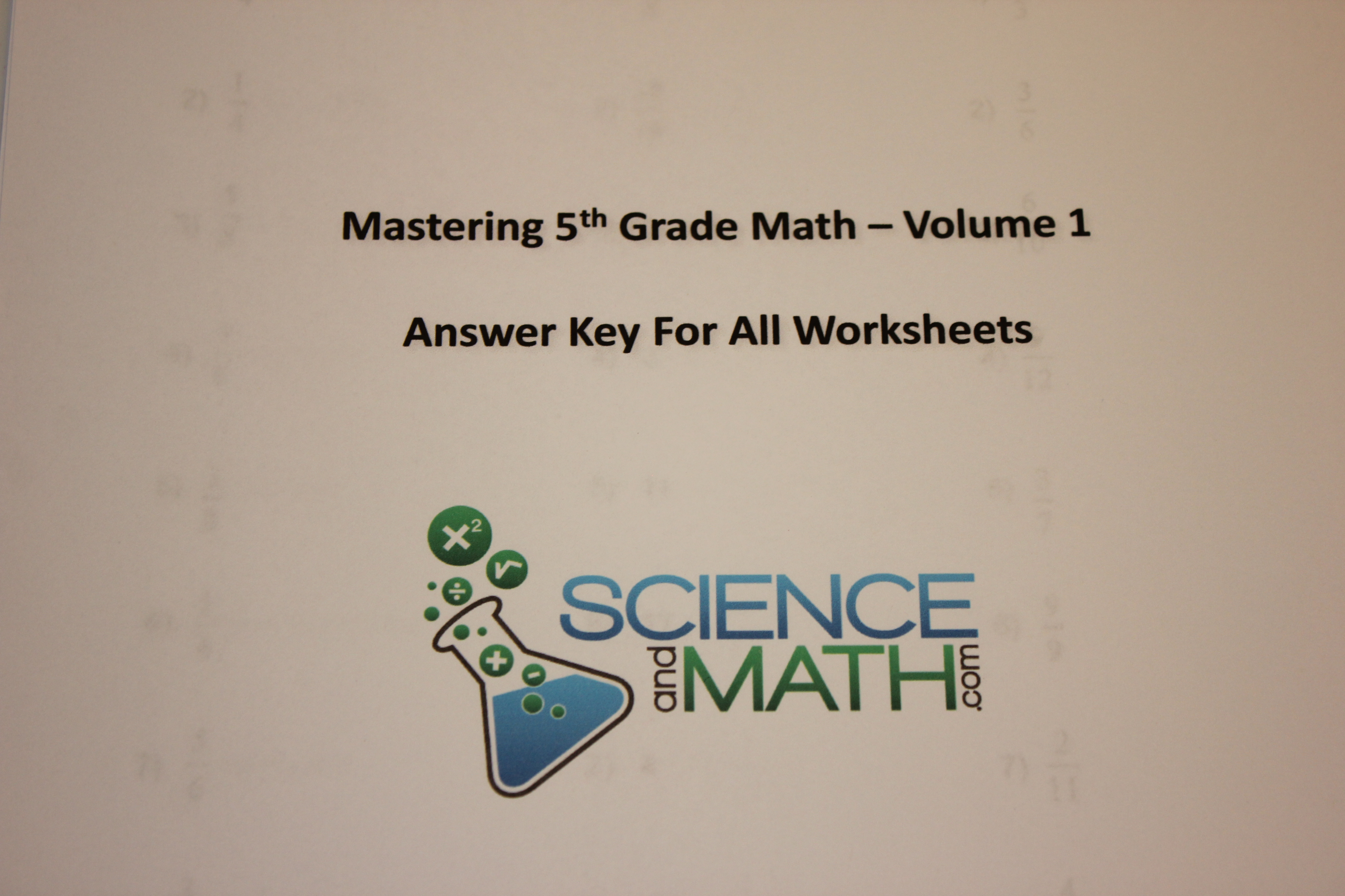 Finding Volume Worksheet With Answer Keys
