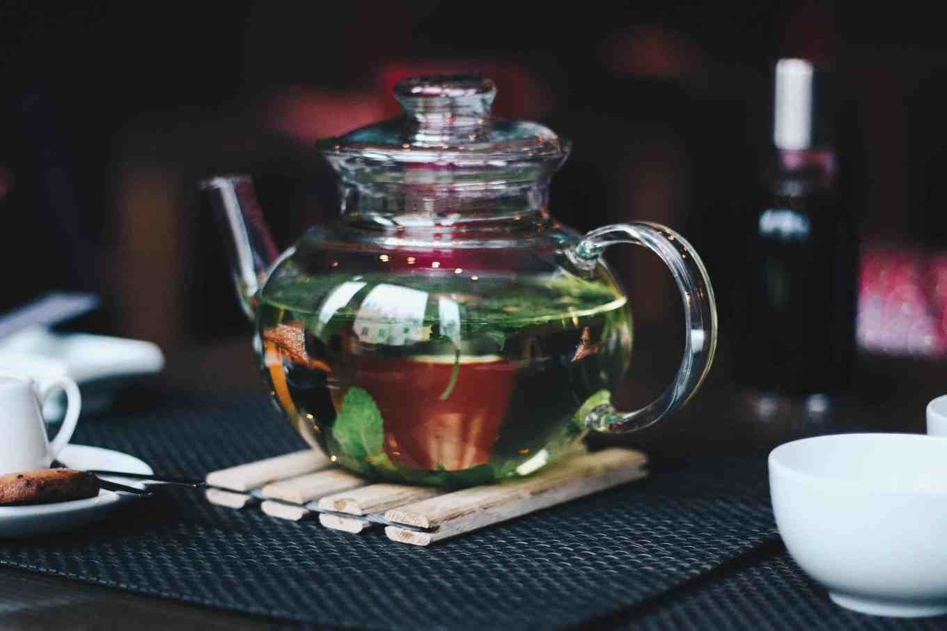 herbal tea pot