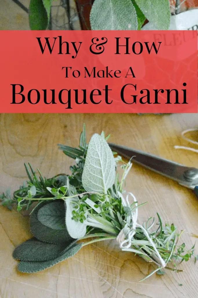 bouquet garni pin