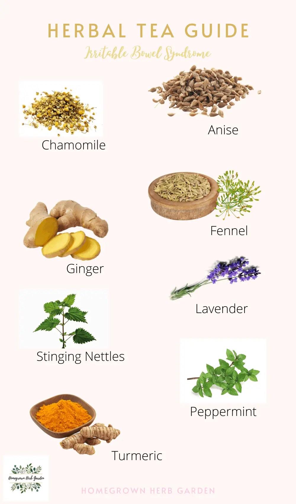 herbal tea blends for IBS