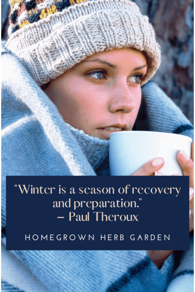 """""""Winter is a season of recovery and preparation."""" – Paul Theroux"""