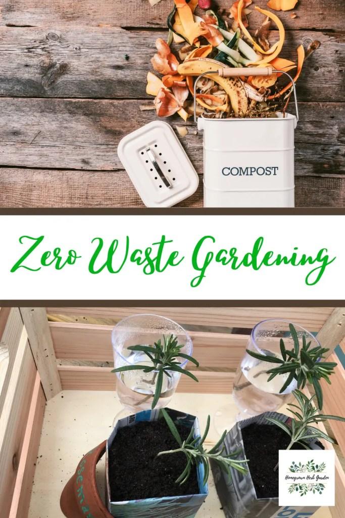 zero waste kitchen starts in the garden