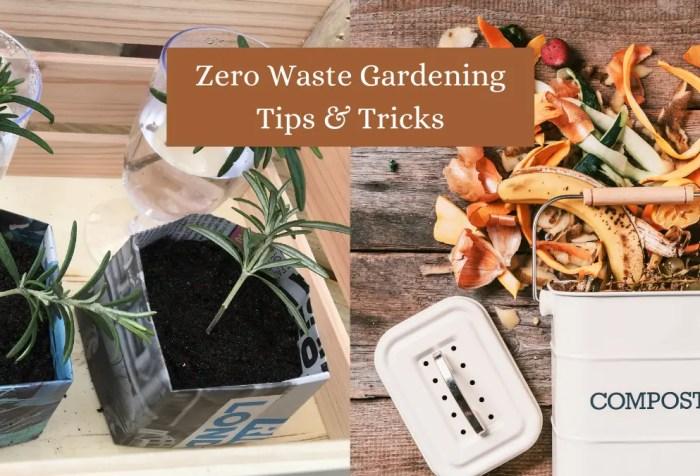 gardening as zero waste