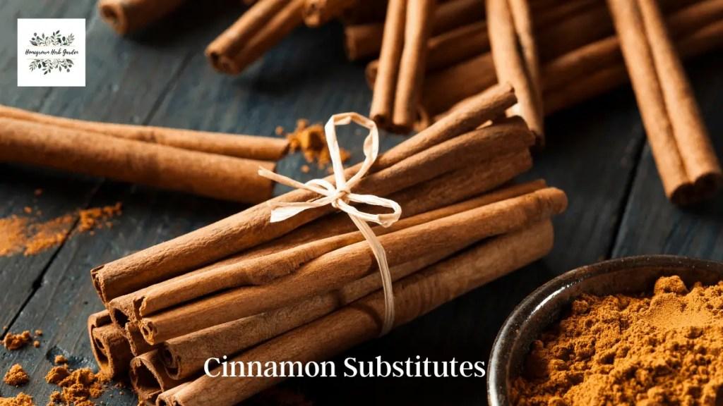cinnamon substitutes