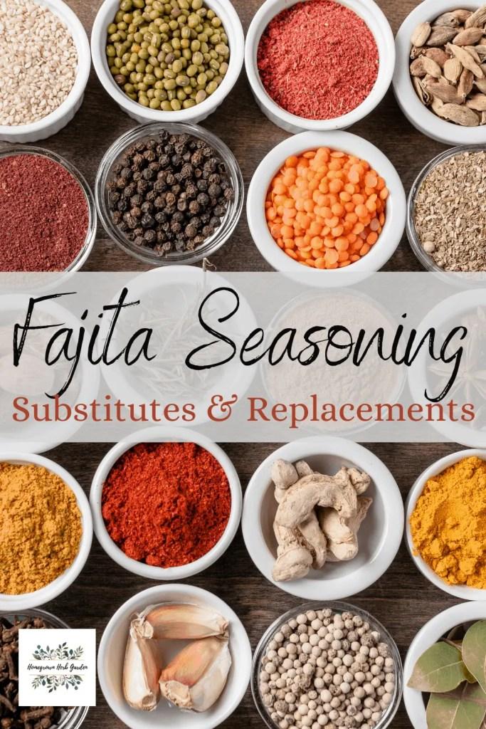 fajita seasoning replacements and alternatives