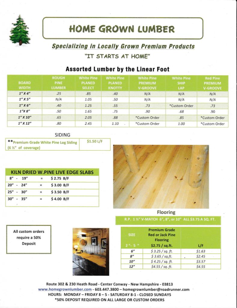 Lumber price list lumber price list best free home design idea for Home design price list