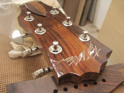 Signed Headstock
