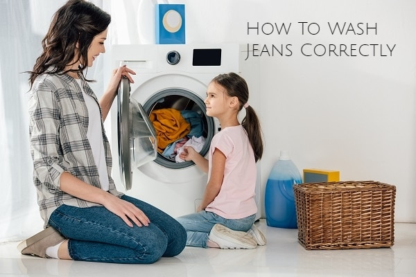 How To Wash Jeans Correctly