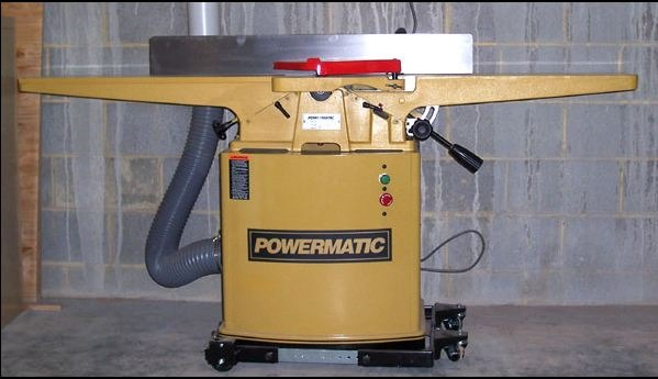 A floor standing jointer for home workshop