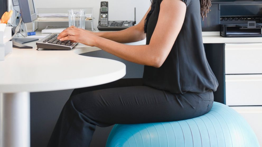desk chair or exercise ball salon chairs for sale cheap the real truth about using an as office