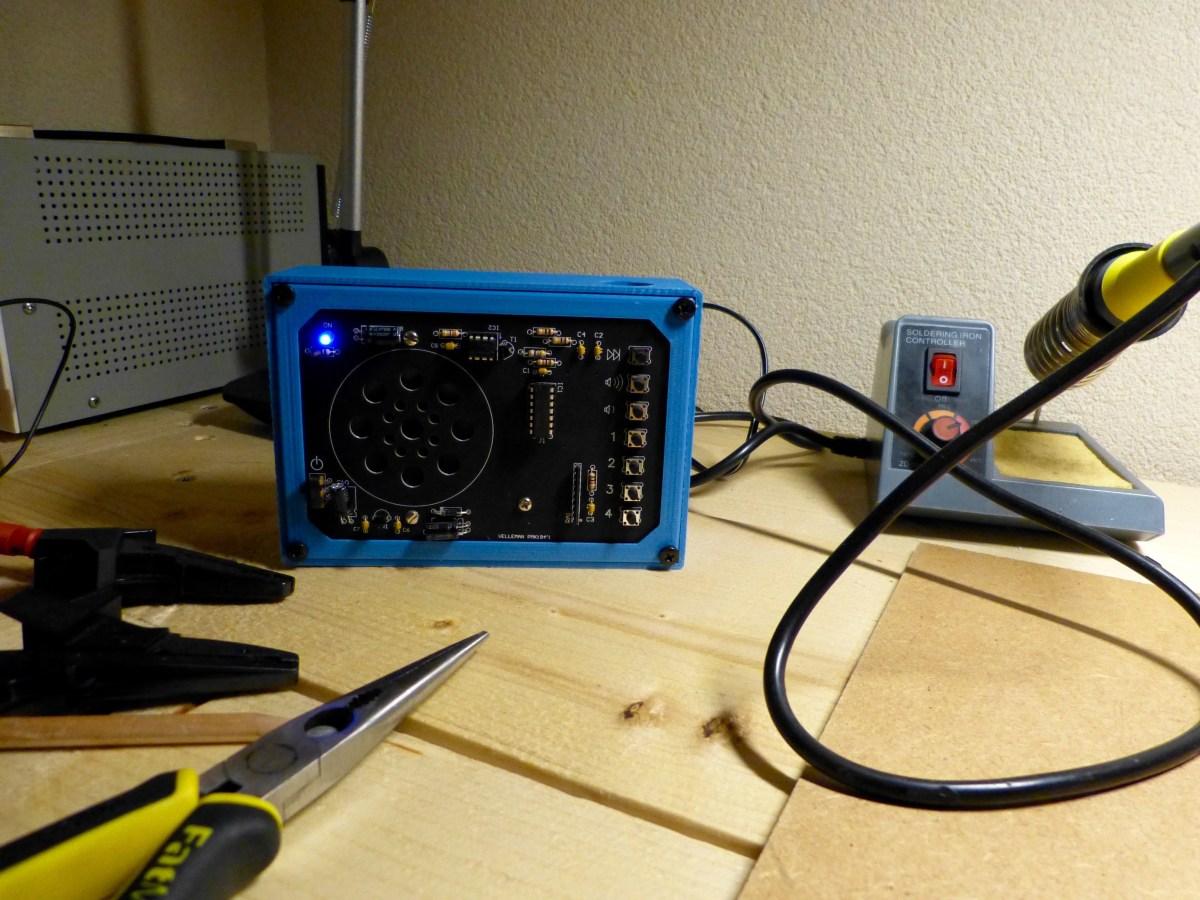 Case for a FM-radio (Velleman MK194)